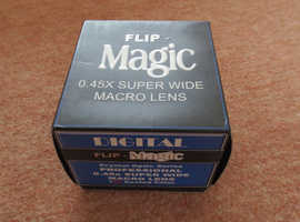 Brand New Bower Flip Magic 0.45X Super Wide Macro Lens 37mm