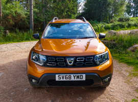 Dacia Duster, 2018 (68) Orange, Manual Diesel, 18,300 miles