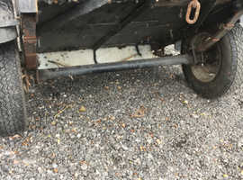 Very small well built trailer ideal stationary engine