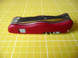 Victorinox 08564 Workchamp Swiss Army Locking Knife Multi-tool