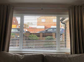 Faux wood made to measure blinds