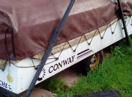 Trailer tent, combi. URGENT SALE, AS MOVING HOUSE.