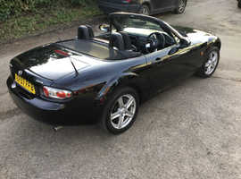 Up and coming clasic convertible mx5