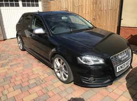 Audi S3, 2009 (09) Black Hatchback, Manual Petrol, 113,599 miles