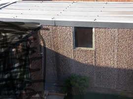 For sale prefab concrete panel garage
