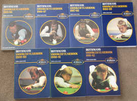 Rothmans Snooker Yearbooks