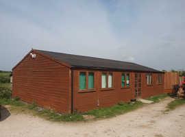 wooden 40 x 24 building in vgc