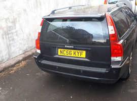Volvo 70 SERIES, 2007 (56) Black Estate, Automatic Diesel, 210,327 miles  SPARES OR REPAIR