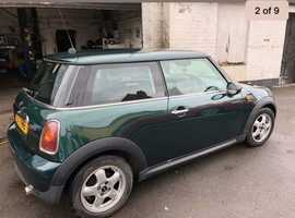 Mini MINI, 2008 (57) Green Hatchback, Manual Petrol, 79,000 miles