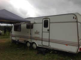 Caravan 4 birth project. Twin axel