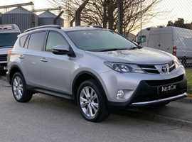 Toyota Rav 4 2.2 D-CAT Invincible Nav Auto Stunning High Spec AUTOMATIC Rav with Full Service History