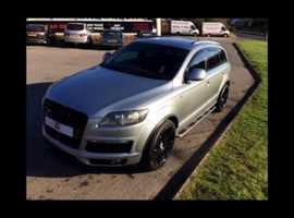 Audi Q7, 2007 (07) Grey Estate, Automatic Diesel, 80,000 miles