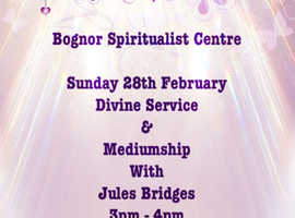 Service with Mediumship on zoom
