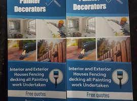 Quality Finish painter decorator service