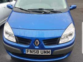Renault SCENIC DYN VVT, 2008 (58) Blue Estate, Manual Petrol, 81,000 miles