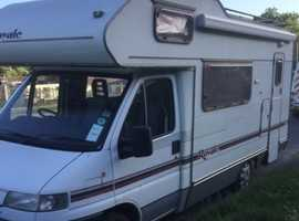 Peugeot boxer swift 320 motor home