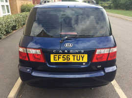 Kia Carens, 2006 (56) Blue MPV, Manual Petrol, 79,800 miles