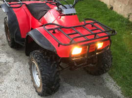 Honda 300cc quad bike.
