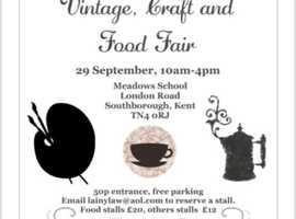 Vintage, craft & food fair