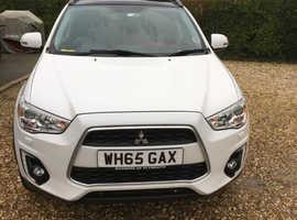 Mitsubishi Asx, 2016 (65) White Hatchback, Manual Diesel,  4 Wheel Drive