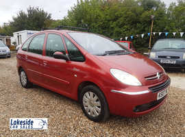 Citroen Picasso 1.6 Litre Diesel 5 Door MPV, New MOT With No Advisories, Only 2 Owners From New.