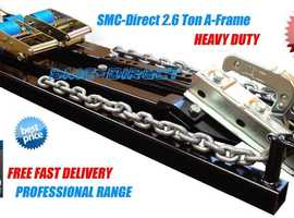*NEW*  CAR TOWING A-FRAMES DIRECT FROM UK SUPPLIER,  BUY ONLINE: www.smc-direct.com  *FREE DELIVERY*