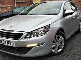 Peugeot 308 Active E-HDI 1.6 Diesel 2014 5dr Sat Nav *1 Year Warranty* Low Mileage 46k