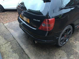 Honda Civic, 2003 (53) Black Hatchback, Manual Petrol, 98,649 miles