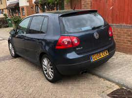 Volkswagen Golf, 2006 (56) Blue Hatchback, Manual Diesel, 168,000 miles