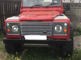 Land Rover LR 90 4C REG, 1986 (C) Red 4x4, Manual Diesel, 18,200 miles
