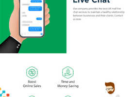 UK Mail Live Chat | Pixelette Technologies