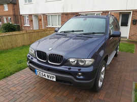 BMW X5, 2004 (54) Blue Estate, Automatic Diesel, 122,215 miles