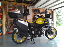 Suzuki Vstrom 1000 XT - fully kitted out for touring.