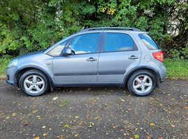 Suzuki SX4, 2009 (09) Grey Hatchback, Manual Diesel, 145,000 miles
