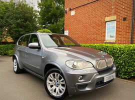"2008 08 REG BMW X5 E70 3.0 30sd M Sport Auto 5dr "" 4X4 "" HPI CLEAR """