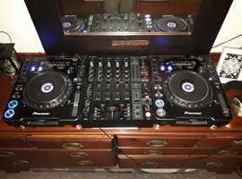 Pioneer cdj1000 mk3 + Djx750 mixer