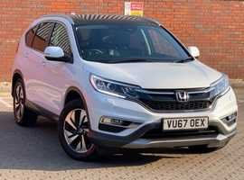 Honda CR-V, 2017 (67) White Estate, Automatic Petrol, 15,983 miles, 2 years Warranty Offer