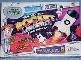 Weird Science 'Make Your Own Rocket Launcher' Experiment Kit (new)