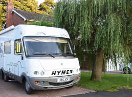 Hymer 584 3 berth one owner from new,  only 4445 miles ,1999.