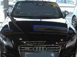 Audi TT, 2012 (12) Black Convertible, Semi auto Petrol, 86,458 miles