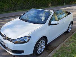 Volkswagen Golf, 2015 (15) White Convertible, Manual Diesel, 42,000 miles