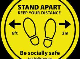 Buy Best Social Distancing Wall Signs