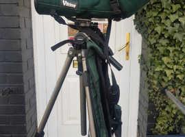 Viking AV-66 ED Spotting scope with tripod & mule pack