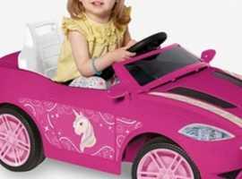 Unicorn electric ride on  car