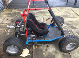 Semi auto off road buggy