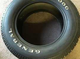 Pontiac chevy general xp2000 tyre