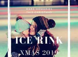 Ice rink at Woburn Sands Emporium