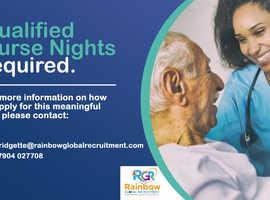Qualified Nurses (Night Shift)
