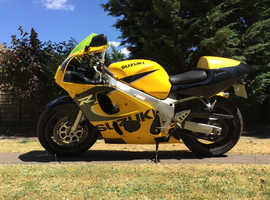 Suzuki GSXR 600 V Reg  ***LOW MILLAGE***