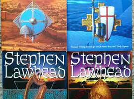 Stephen Lawhead Fantasy Paperback Book Bundle